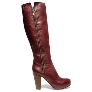 Steve Madden | Rikki Burgundy Knee High Boots